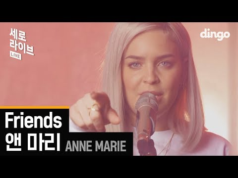 앤 마리 (Anne - Marie), Marshemello - Friends | 4K LIVE version [세로라이브]