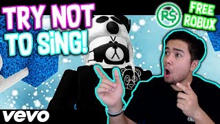 TRY NOT TO SING TO ROBLOX MUSIC VIDEOS #2!!! *FREE ROBUX*