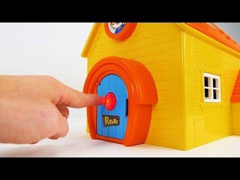 Pororo, Paw Patrol, and Peppa Pig बच्चों के लिए टॉय हाउस वीडियो - Hindi