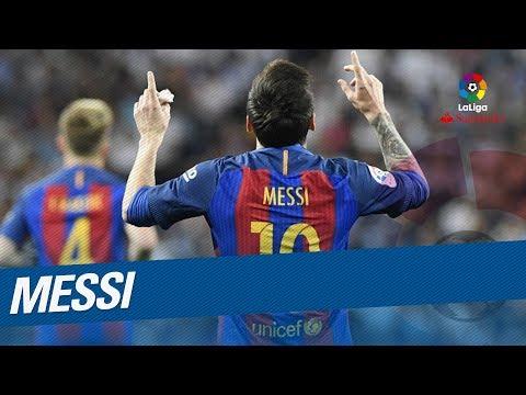 TOP 10 Goals Lionel Messi LaLiga Santander 2016/2017 - Pichichi Trophy