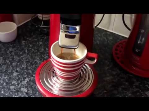 Philips Senseo With Ground Coffee Using Coffee Duck Adapter.