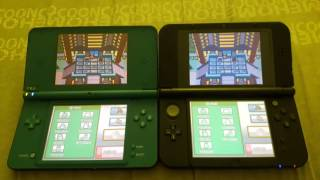 How do DS games look on new 3DS XL vs DSI XL? Pokémon Soulsilver