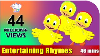 Repeat youtube video Nursery Rhymes Vol 4 - Collection of Twenty Rhymes