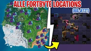ALLE Fortbyte ORTE bis Heute in Fortnite (Fortbyte Locations)
