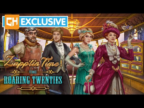 Rip-roaring Hidden Objects? It's Zapplin Time! The Roaring Twenties | GameHouse Exclusive
