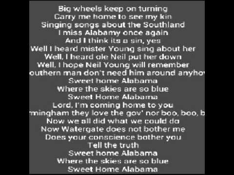 Alabama - Down Home Lyrics | MetroLyrics