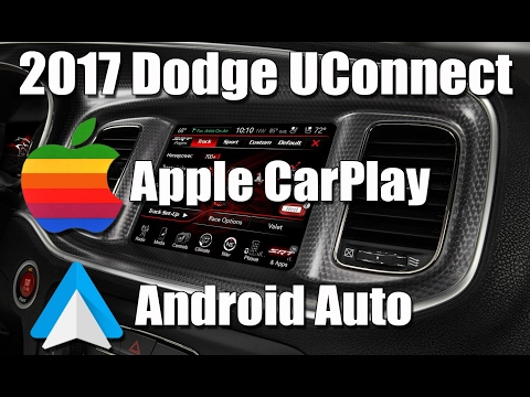 2017 Dodge Charger - Apple Carplay and Android Auto overview