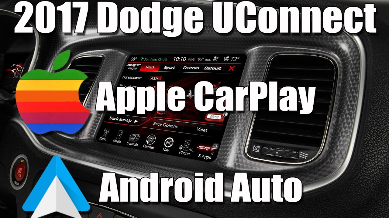2017 dodge charger apple carplay and android auto overview youtube. Black Bedroom Furniture Sets. Home Design Ideas