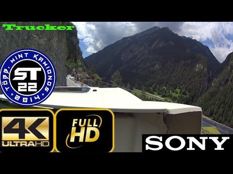 4K Kamionos videók. #1 Reschenpass