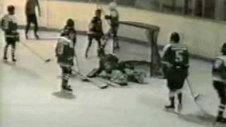 Young Avril Lavigne Playing Hockey
