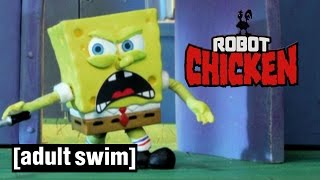 SpongeBob SquarePants learns the truth | Robot Chicken | Adult…