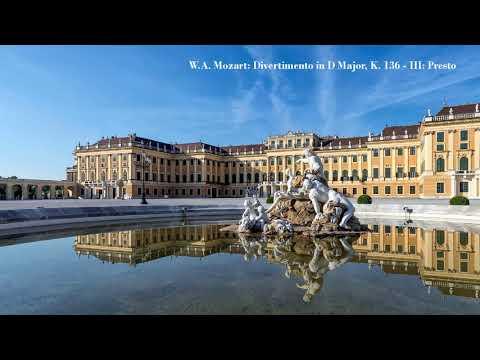 W.A. Mozart: Divertimento in D Major, K. 136 - III: Presto