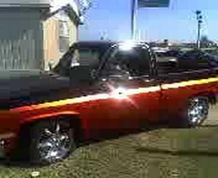 1983 Chevy Truck >> 1983 chevrolet C10 orange and black - YouTube