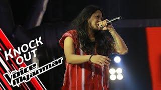 Novem Htoo: Faint (Linkin Park) | Knock Out - The Voice Myanmar 2019
