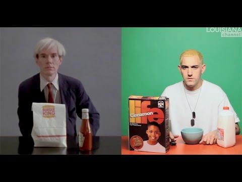 Alex Da Corte & Jørgen Leth: Eminem and Warhol