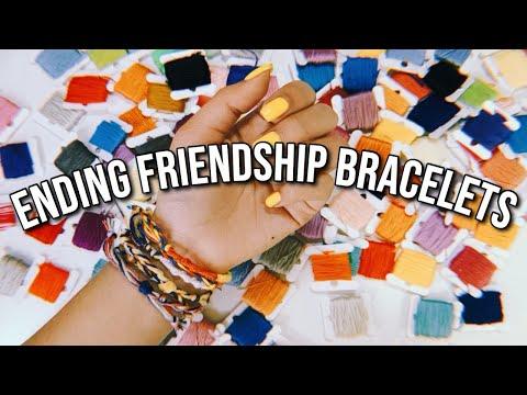 6 WAYS TO START AND END YOUR FRIENDSHIP BRACELETS! *ADJUSTABLE* | DIYholic