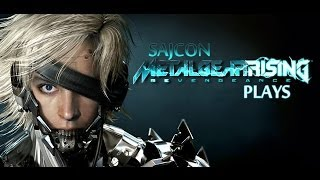 "Metal Gear Rising: Revengeance ""I WANTED YOUR SPINE, MOTHERFUCKER"" Episode 5"