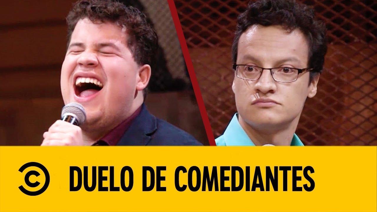Ojitos De Huevo VS Kike Vazquez | Duelo De Comediantes | Comedy Central LA