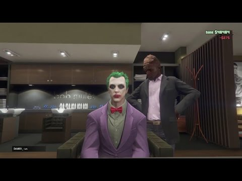 GTA Online - The Joker Character Customization