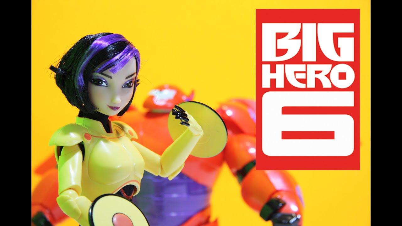 big hero 6 gogo tomago disney store toy doll review youtube
