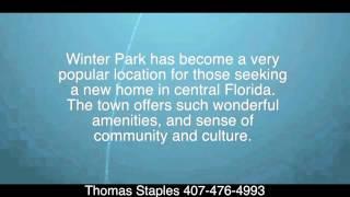 Orange County, Florida Real Estate  | Thomas Staples 407-476-4993