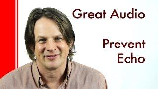 Prevent echo when recording sound - DIY Sound Proofing