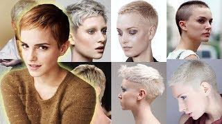30 Cool Very Short Hairstyles & New Pixie Short Hair Trends!