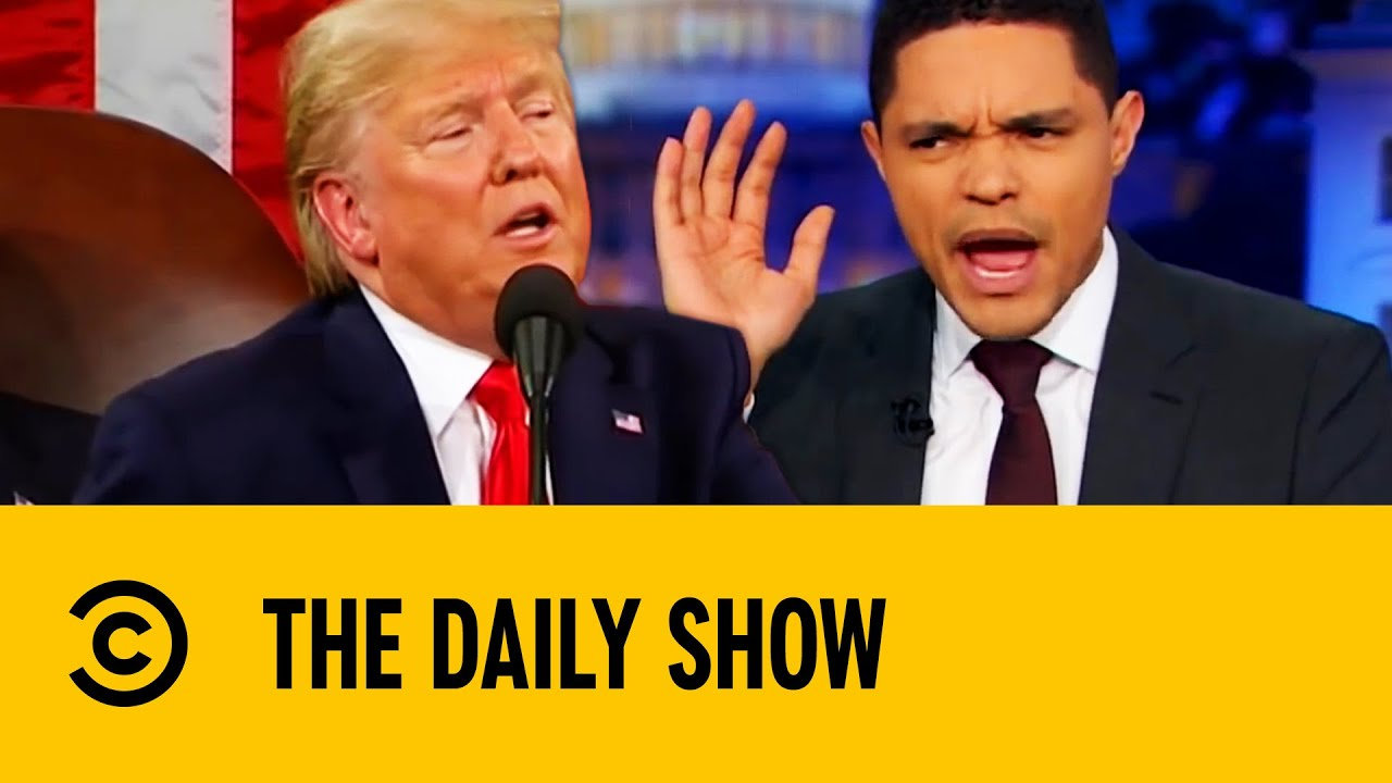 Trump's Most Awkward Impeachment Trial Moments | The Daily Show With Trevor Noah