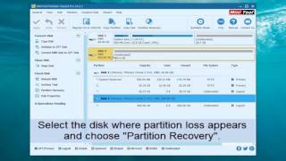 Recover partition and data after diskpart clean command