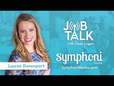 Job Talk Radio with Guest Lauren Davenport, CEO of Symphoni Media