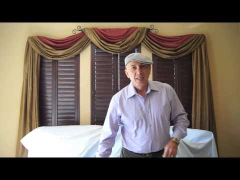 Video #60: Five Different Window Treatment Designs in One Room Claremont, CA