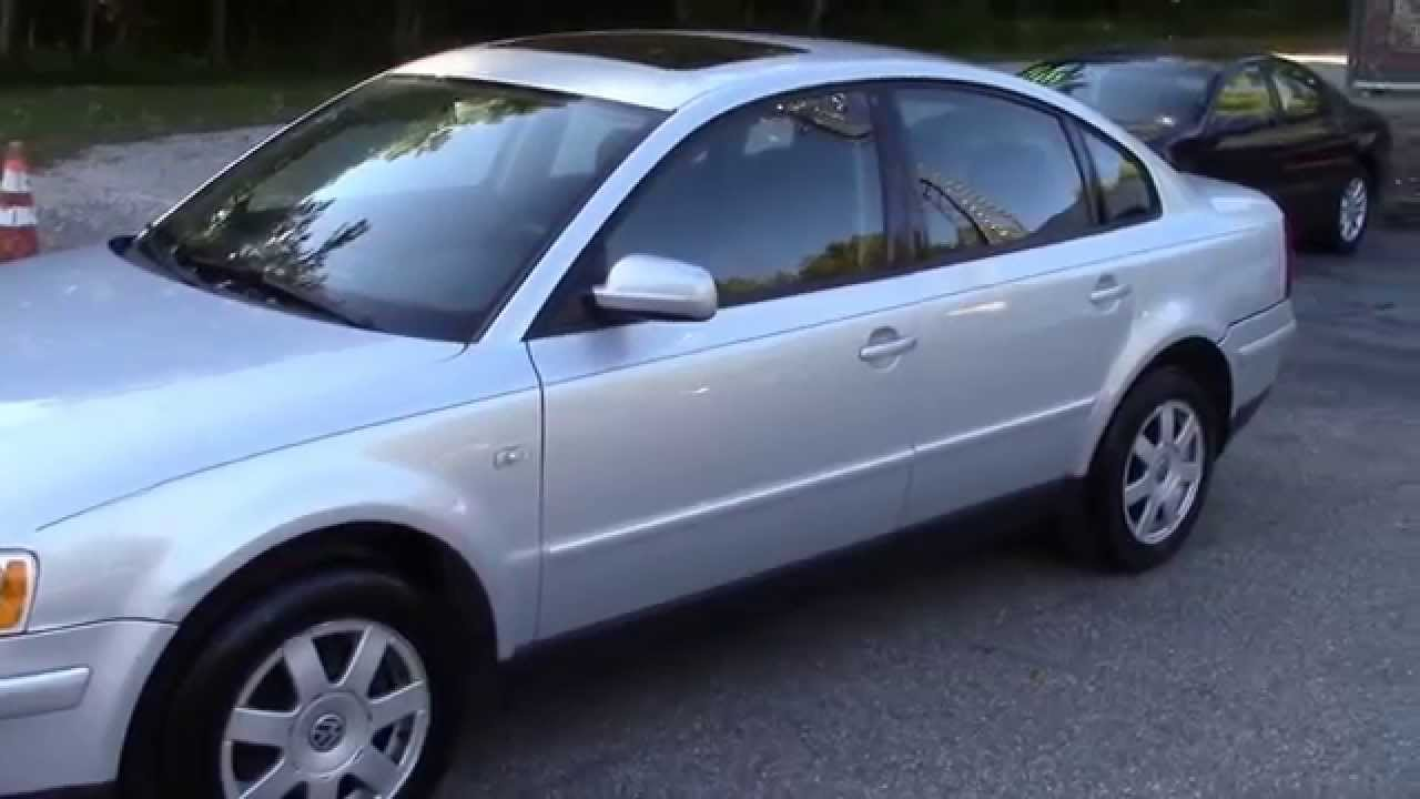 Volkswagen Passat For Sale >> 2000 VW Passat Silver for sale - YouTube