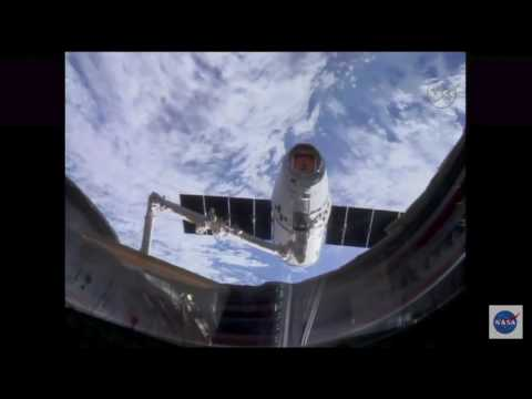 Used SpaceX Dragon Capsule Arrives at Space Station For 2nd Time