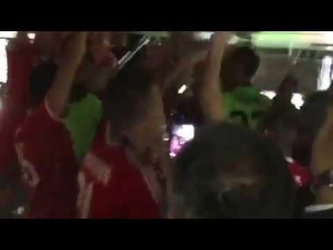 "Spontane ""FC Bayern""-Party nach dem Champions League Finale 2013"