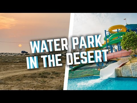 WATER PARK IN THE DESERT! Dreamland Aqua Park, UAE