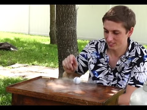 Thumbnail: Ping Pong ball filled with liquid nitrogen? Insane Speed!