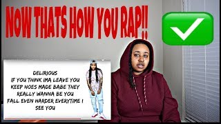 NOW THATS HOW YOU RAP DOMO! LIL PERFECT x DOMO WILSON- BELIEVE IN ME (REACTION)!
