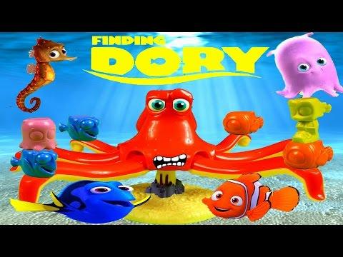 Finding Dory: Don't Wake Hank Game, Frozen Jumbo Egg Surprise, Shopkins, Finding Dory Kinder Surpris
