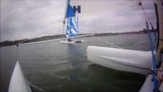 Sailing Video catamaran Dart 16 Quentin Beaujean