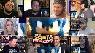 Sonic The Hedgehog (2020) REACTIONS MASHUP