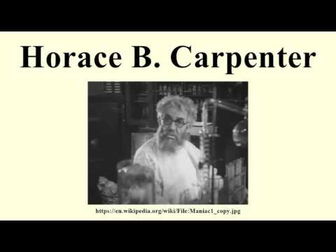 Horace B. Carpenter