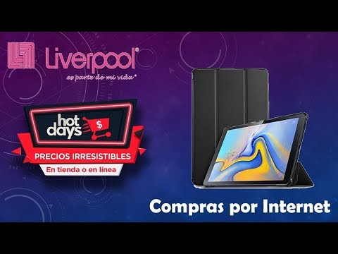 "unboxing-/-experiencia-liverpool-/-click-&-collect-""samsung-galaxy-tab-a-10.5""-hot-days"