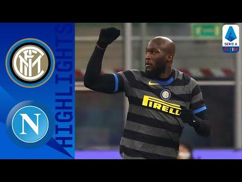 Inter 1-0 Napoli   Lukaku porta Conte a -1 dal Milan   Serie A TIM