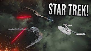 Klingons VS Starfleet Battlegroup! - Star Trek Discovery EPIC Battle - Space Engineers!