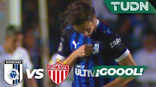 ¡Gol de Gallos! Anota Marcel Ruiz   Querétaro 1 - 0 Necaxa   Liga Mx  AP 19  Cuartos de final   TUDN