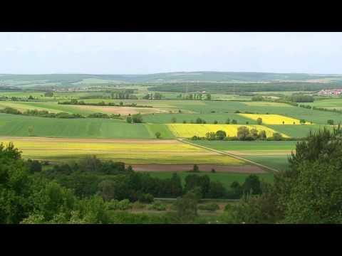 Wandern Franken: Zell am Ebersberg-Schlangenweg