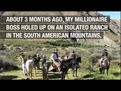 Millionaire Holes Up in Mountain Ranch (Disturbing)
