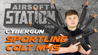 Cybergun Sportline Colt M4 Line - Best Bang for your Buck - Airsoft Station Review