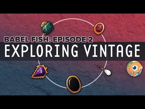 Babel Fish Episode 2 - Exploring Vintage With Joe Dyer