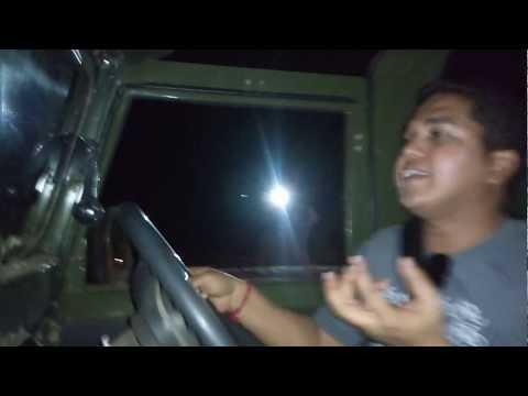 Mahindra Adventure - Off road training at night
